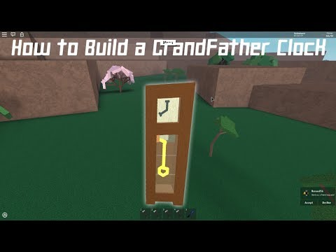 Lumber tycoon 2 | How to Build a Grandfather Clock