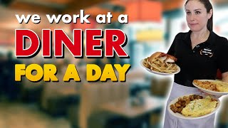 Working at a DINER for 1 DAY