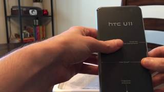 HTC U11 Unboxing and first look