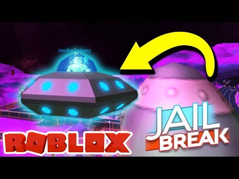 NEW ALIEN AND UFO UPDATE IN ROBLOX JAILBREAK *INSANE*