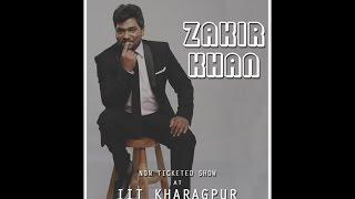 Kshitiz 2K17 || Zakir Khan performance at IIT Kharagpur Part1:Jinko Pata hai Unko Pata hai