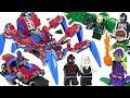 LEGO Marvel Spider Man Crawler VS Venom DuDuPopTOY