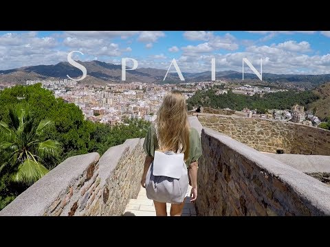 Trip to Spain // Malaga, Tarifa, Barcelona, Salou