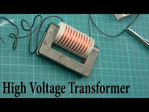 How to make a High Voltage Transformer