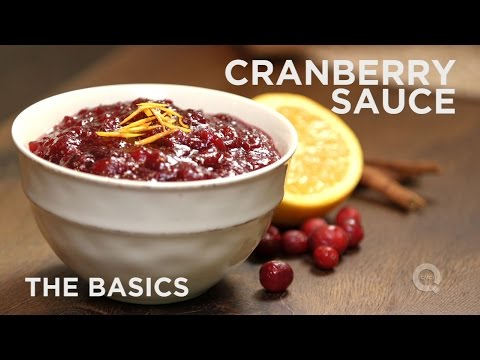 How to Make Cranberry Sauce - The Basics on QVC