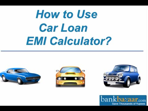 How to Use Car Loan EMI Calculator?