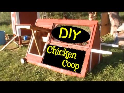 DIY Chicken Coop Design - How to build a chicken coop using old pallets, Chicken Coop Design Ideas