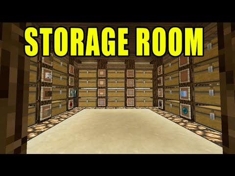 Minecraft Xbox Ep 28 Building my Storage Room