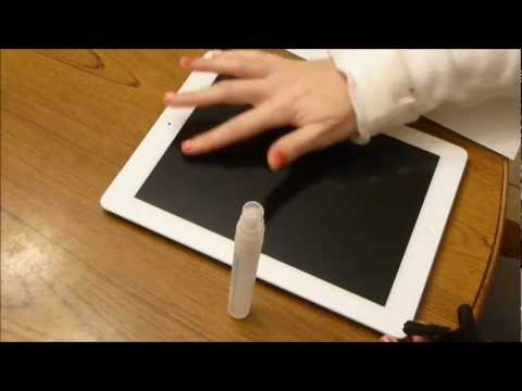 How To Perfectly Install a Screen Protector on the iPad or Iphone 6