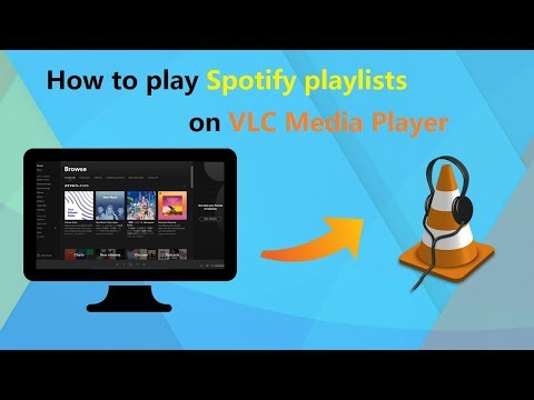 How to play Spotify playlists on VLC Media Player