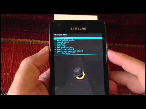 How to enter Recovery Mode in Samsung Galaxy S2 by AndroidADN