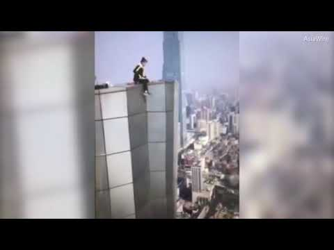Chinese Rooftop Climber Dies After 62-Storey Fall