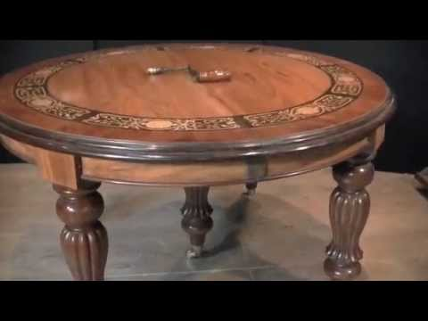 Antique Dining Table Guide - Extending Table via Leaf System
