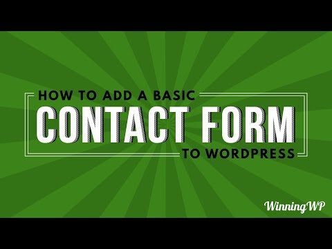 How To Add A Contact Form To WordPress (for Free & with Ease!)