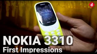 Nokia 3310 First Impressions | Digit.in