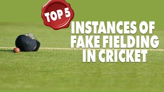 5 Incidents of Fake Fielding by Cricketers | Simbly Chumma