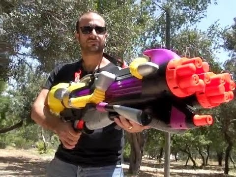 Best Water gun ever! Top 7 Nerf Super Soaker toy | Hasbro Nerf Gun | Wasserpistole