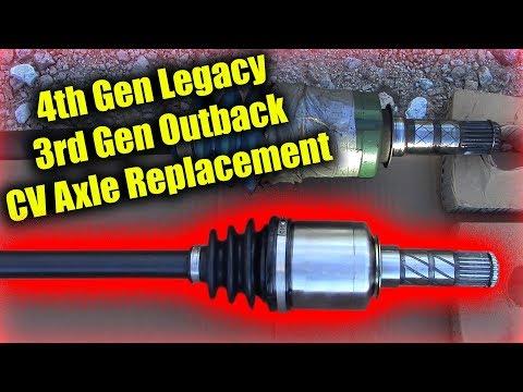 2005-2009 Subaru Legacy CV Axle Replacement