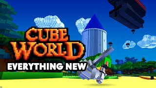 EVERYTHING NEW Coming to Cube World in the Release 2019
