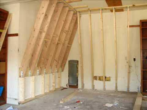 Home Climbing Wall Construction