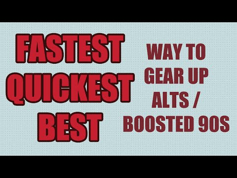 6.0 FASTEST Ways To Gear Alts & Boosted 90 - Fastest Gearing Strategy