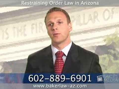 Restraining Order Lawyer / Attorney in Phoenix, Arizona