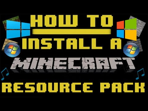 How To: Install A Minecraft Resource Pack [Windows] [1.8/1.8.8]