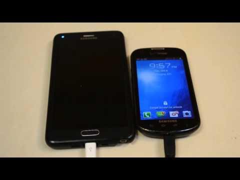 Tutoriel: Transfert Données entre appareils Android.