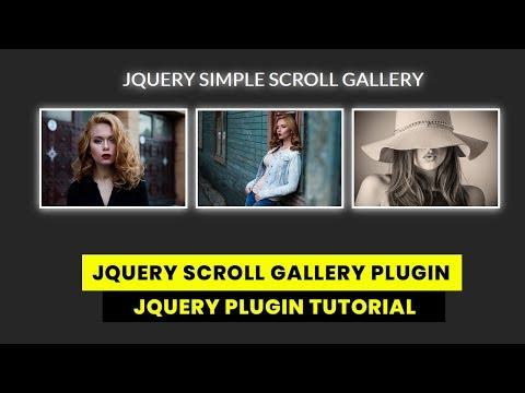 Jquery Simple Image Scroll Gallery Plugin | JQuery Plugin Tutorial