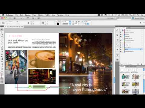 Adobe InDesign CS5:Document installed fonts