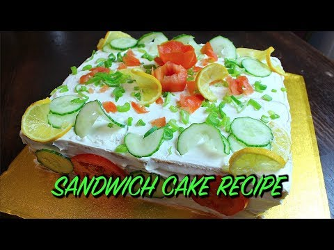 SANDWICH CAKE RECIPE *COOK WITH FAIZA*