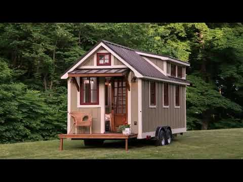Moveable Tiny House Floor Plans