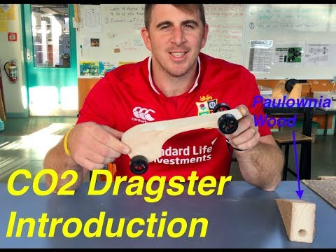 CO2 Dragsters - Lesson 1 Intro vid (Paulownia wood and aerodynamics)