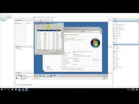 Change the number of Processors and the mount of Memory of Virtual Machine in Hyper-V 2016