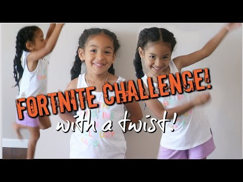 FORTNITE DANCE CHALLENGE! *with a TWIST*