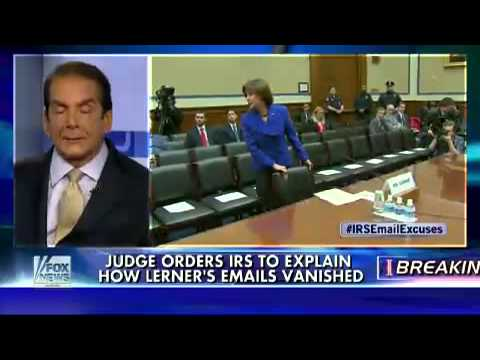 Krauthammer On Scandal Closing In On IRS
