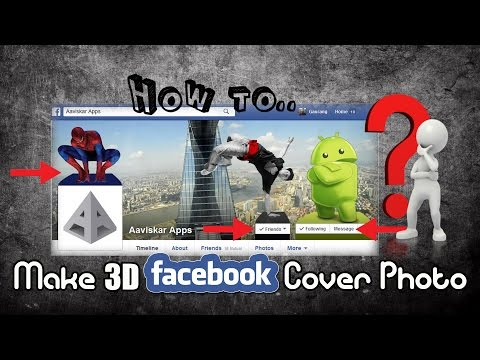 How to make 3D Facebook Cover Photo in Photoshop