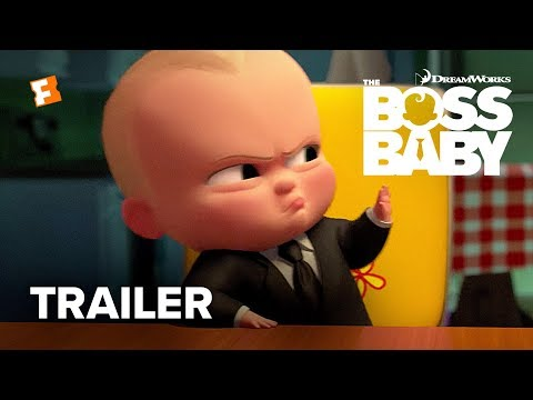 The Boss Baby Official Trailer - Teaser 2017 - Alec Baldwin Movie