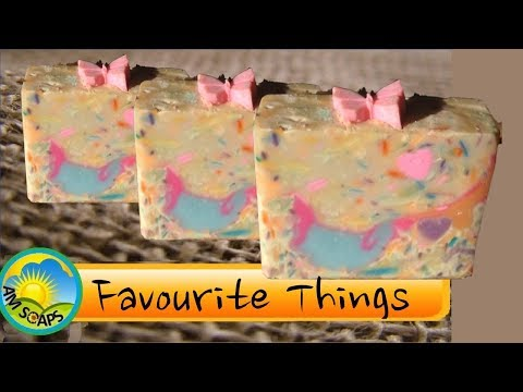 Favourite Things Cold Process Soap - Testing Powder and Baked Bread fragrance oils