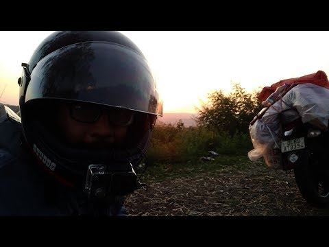 Day 1 | Delhi to Danera | Solo Ride | Stop Road Rage Ride | First sight of mountains | Bajaj V15