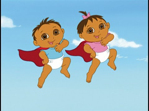 Dora the Explorer - Super Babies