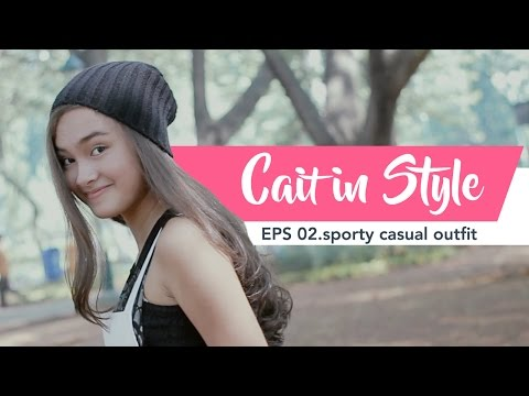 Caitlin In Style - SPORTY CHIC CASUAL LOOK IDEAS (+ HAIR & MAKE UP)