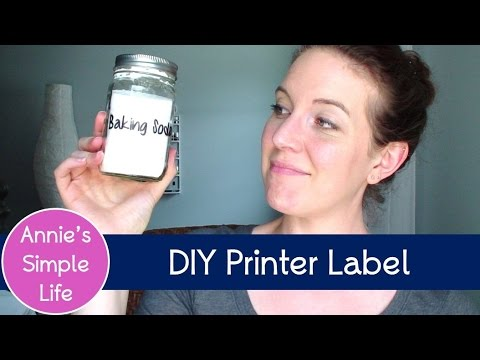 Does It REALLY Work?? - DIY Clear Printer Label