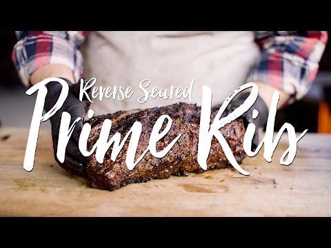 Reverse Seared Prime Rib