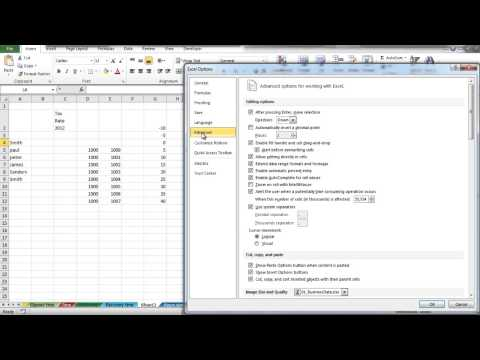 How to control cell cursor in Excel