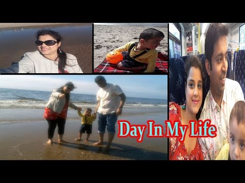 Sharing Exciting News|Beach Fun with my Toddler |Picnic Food Idea|| Indian Mom vlogs