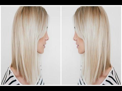 Dramatic A Line Haircut