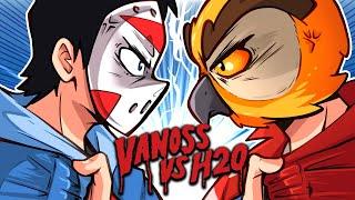 VANOSS VS H2O DELIRIOUS (GTA 5, GMOD, TABS funny moments) New Merch!