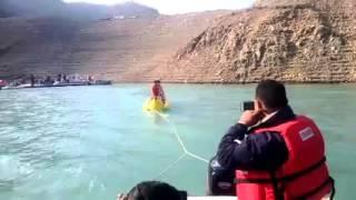 Adventurous banana ride in Tehri Lake