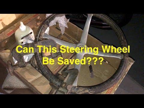 1930's Race Car Restoration, Wooden Steering Wheel Rejuvenation!